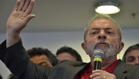 Titular de Unasur se solidarizó con expresidente de Brasil Lula da Silva. (AFP)