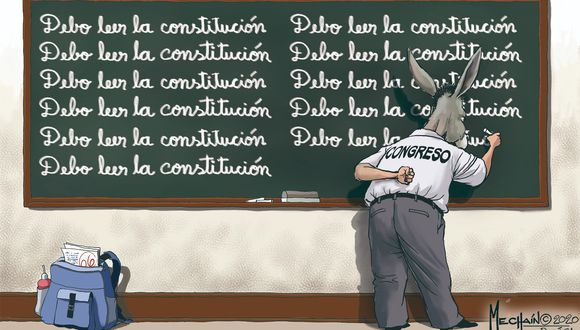 Mechaín: Debo leer la Constitución
