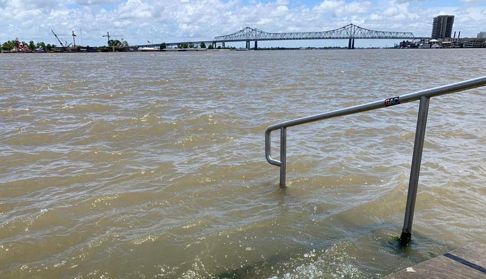 Tormenta Barry amenaza diques de Nueva Orleans en EE.UU. (Foto: AFP)