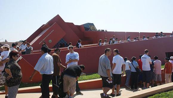 El museo cerró el 2011 con 150 mil visitantes, en su mayoría peruanos. (Andina)