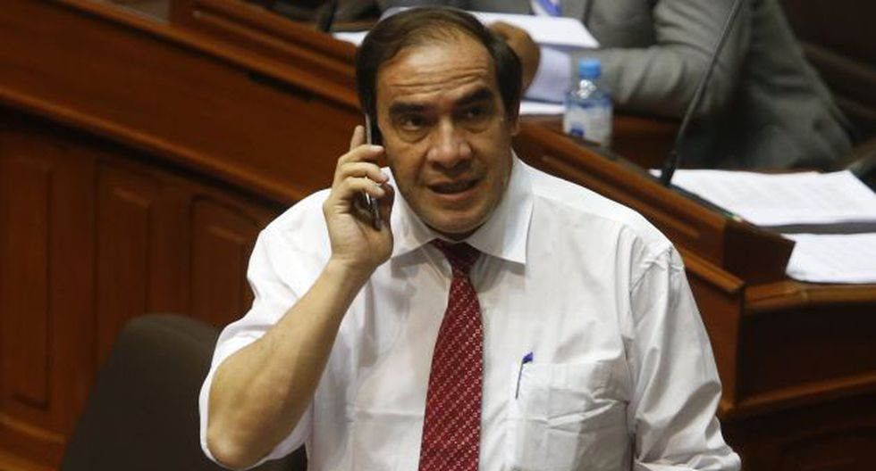 REFLEXIÓN. Yonhy Lescano pide que fujimorismo ceda Comisión de Ética. (Mario Zapata)