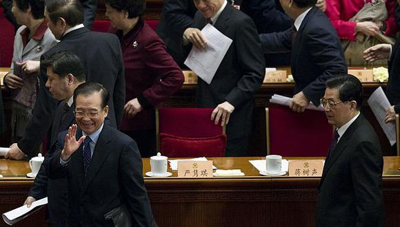 Autoridades chinas se reúnen desde la semana pasada en la Asamblea Nacional Popular. (AP)