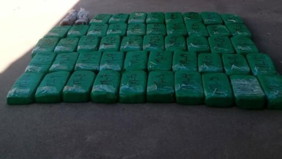 Los Sinchis de Mazamari incautaron la droga en  Satipo. (Mininter)