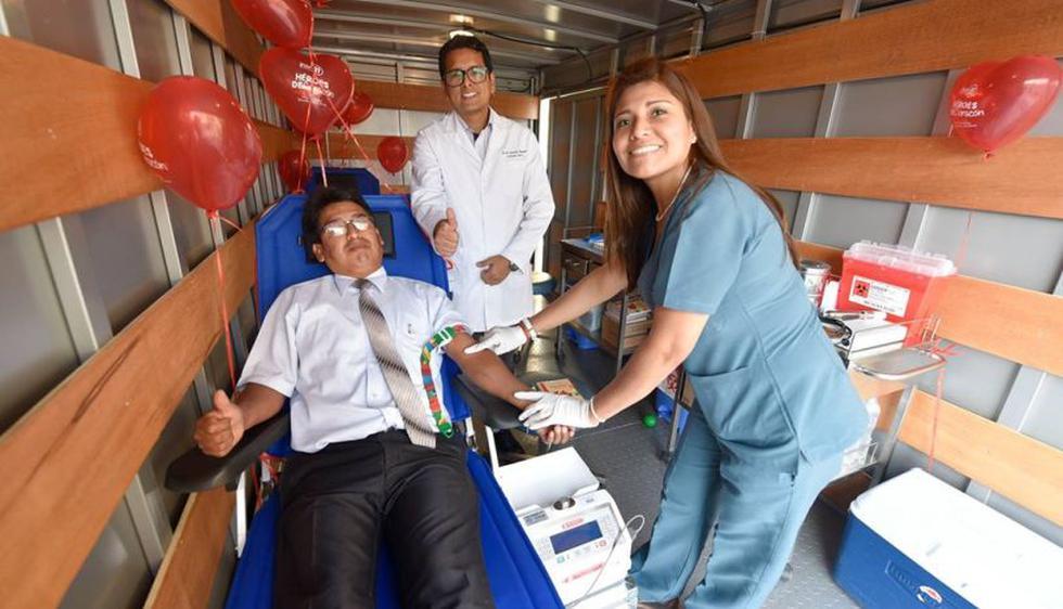 La unidad móvil contará con equipos e insumos que se utilizan en la extracción de sangre. El bus irá a puntos previamente coordinados.