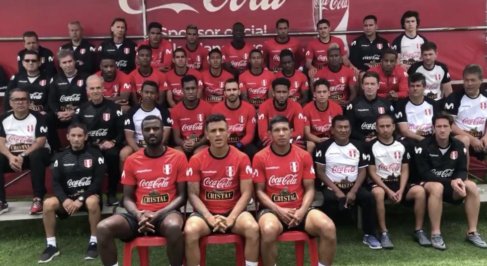 Jugadores expresaron sus condolencias por los menores fallecidos en Chachapoyas. (Twitter Selección peruana)
