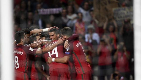 Portugal viene de golear a Luxemburgo en su última presentación por el grupo B de las clasificatorias para la Euro, mientras que Ucrania se impuso a Lituania. (Foto: AFP)