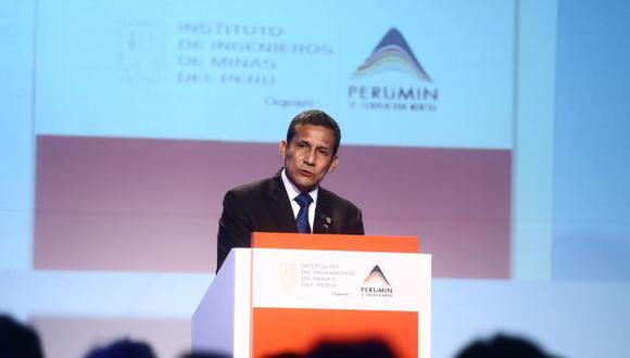 Clausura de Perumin 2013. (Heiner Aparicio)