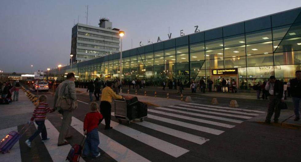 El Aeropuerto Internacional Jorge Chávez es uno de los elegidos. (Foto: Andina)