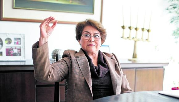 Gladys Echaíz asegura que hay disposición a colaborar con el Ejecutivo pero siempre en el marco de la Constitución y la ley. (@photo.gec)