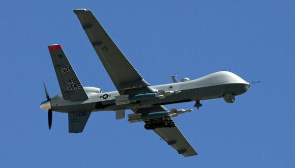 Primera vez que usan 'drones'. (AFP)