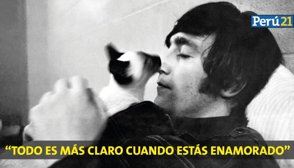 John Lennon: Diez frases para recordarlo en su cumpleaños (Agencias)