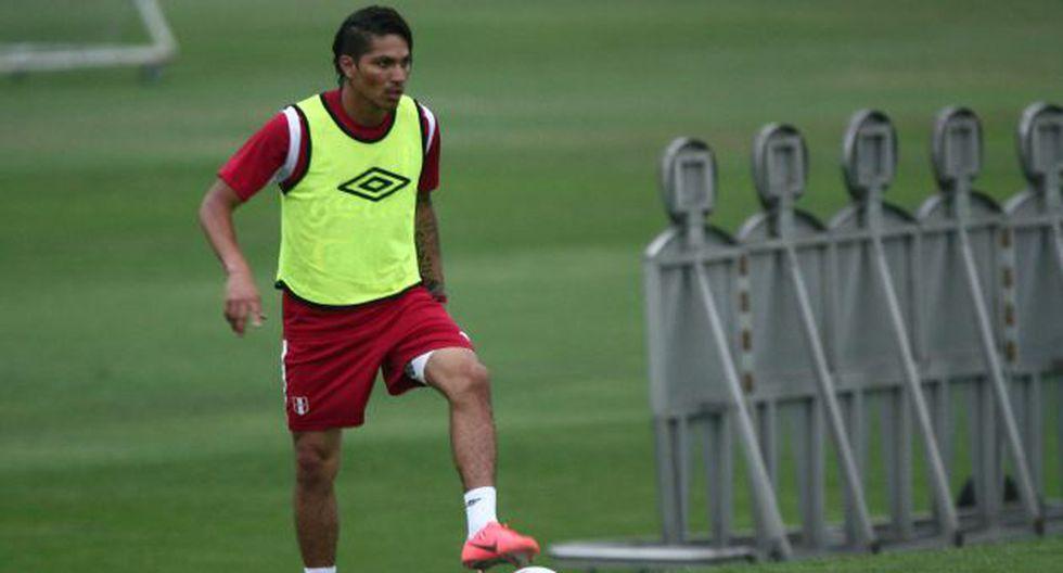 """CAUTO. Guerrero dice que duelo con Colombia será """"difícil"""". (David Vexelman)"""