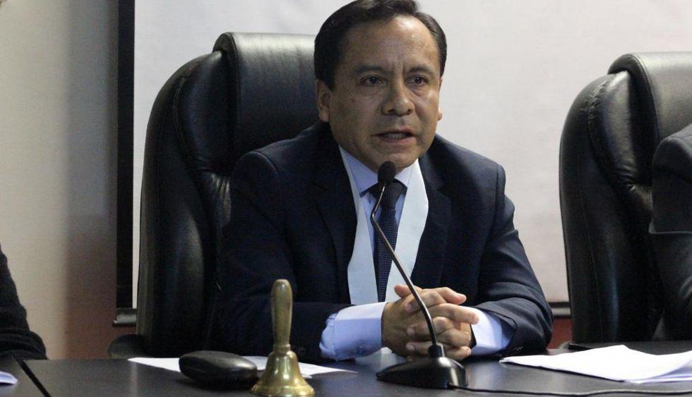 Juez Alcides Ramírez Cubas, del Colegiado Penal Permanente de la Corte Superior de Justicia de Lima Norte. (Perú21)