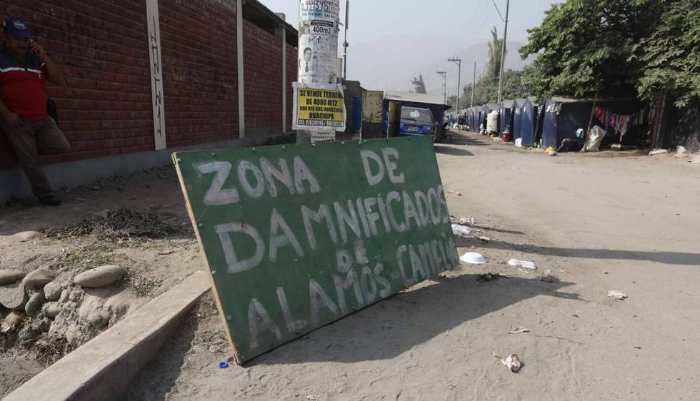 Cerca de 60 familias viven en el albergue temporal Los Álamos. (Anthony NIño de Guzmán)