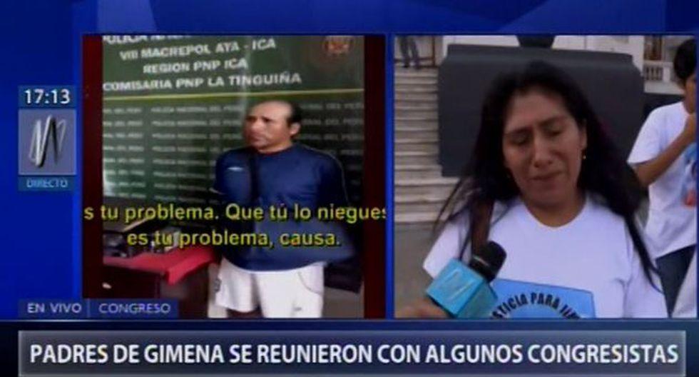 Madre de Jimena no ha salido ante cámaras por el intenso dolor de la pérdida de su hija.