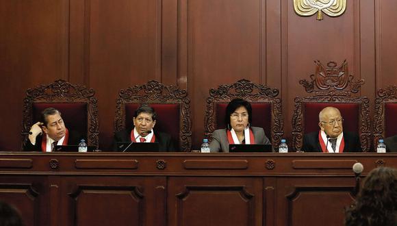 Tribunal Constitucional: Indagación a magistrados se iniciaría hoy. (USI)