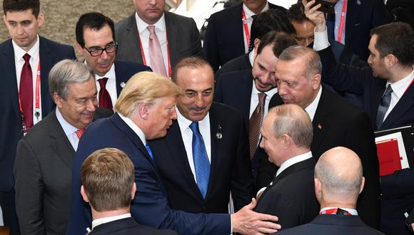 Putin, que se reunió en Osaka con Trump, dijo que si Washington desea mejorar las relaciones con Rusia, él está preparado para responder. (Foto: EFE)