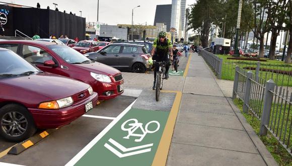 Maneja bicicleta contribuye a reducir las emisiones de carbono, señala especialista. (Foto: Municipalidad de San Isidro)