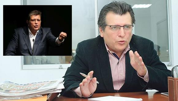 Gerente de Idice acusó una campaña en contra de Alan García. (USI)