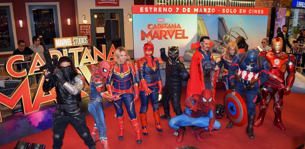 """La película de """"Capitana Marvel"""" llega a todos los cines del Perú este 7 de marzo. (Fotos: Difusión)"""