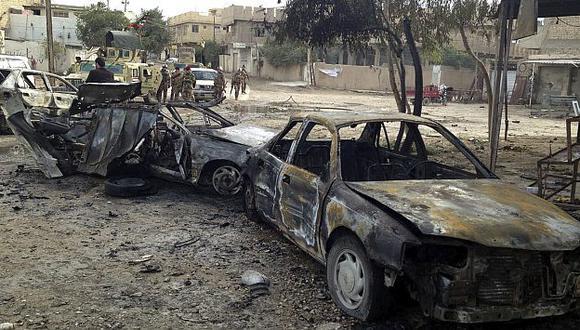 Estallido doble de autos ocurrió en norteño barrio chií de Shaab. (Referencial/EFE)