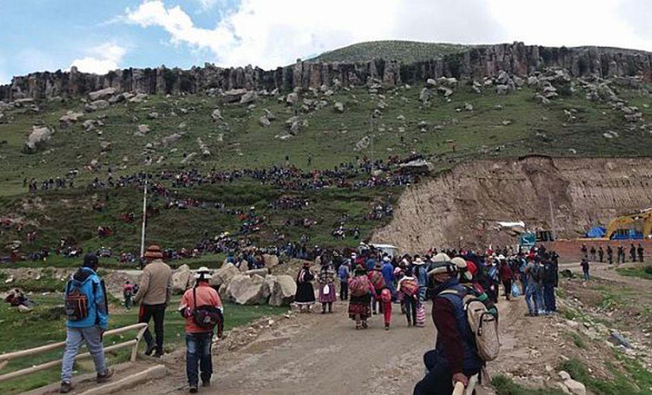 Las Bambas: Comuneros iniciarán paro indefinido en Challhuahuacho. (Andahuaylas Virtual)