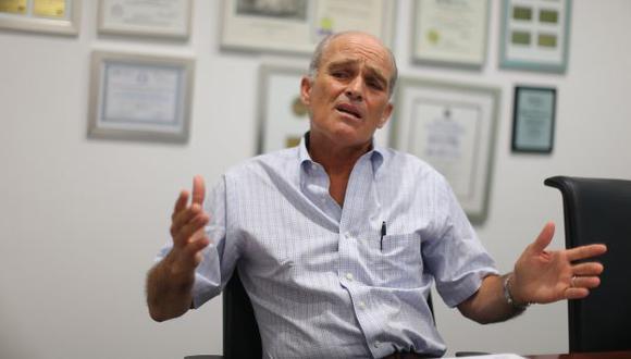Roque Benavides no quiso señalar directamente que la campaña era en contra de Humala. (Perú21)