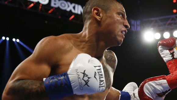 Maicelo busca recuperarse tras su derrota ante Ray Beltrán. (AFP)