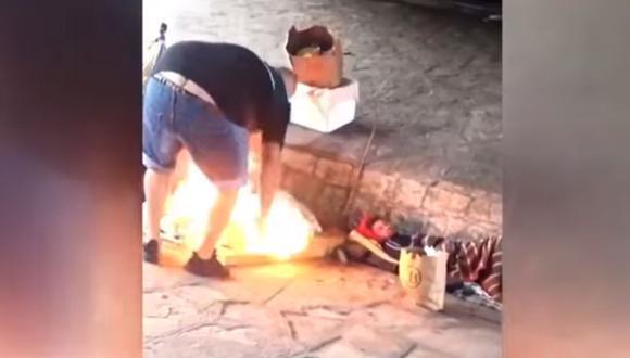 El video tuvo una gran repercusión desde su difusión y tardó poco en hacerse viral. (Foto: Captura)