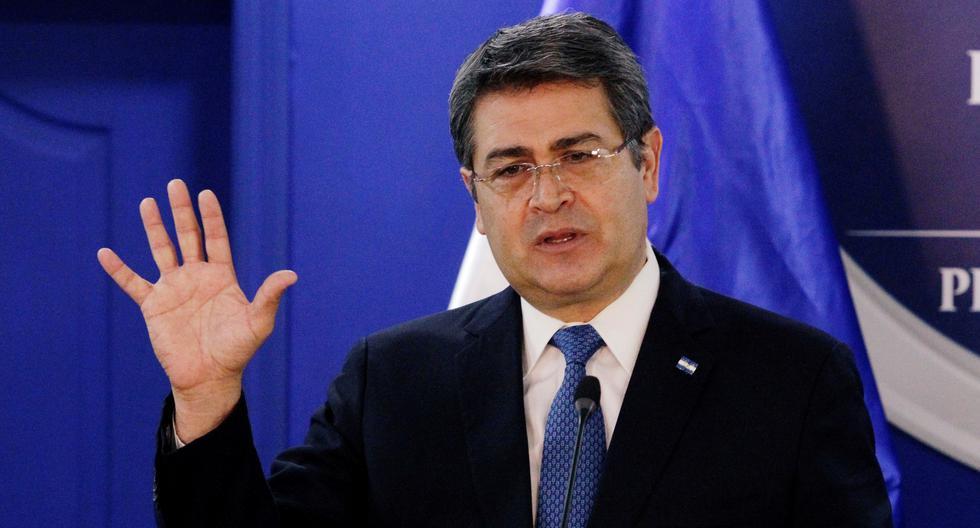 Juan Orlando Hernández, presidente de Honduras. (Foto: Reuters)