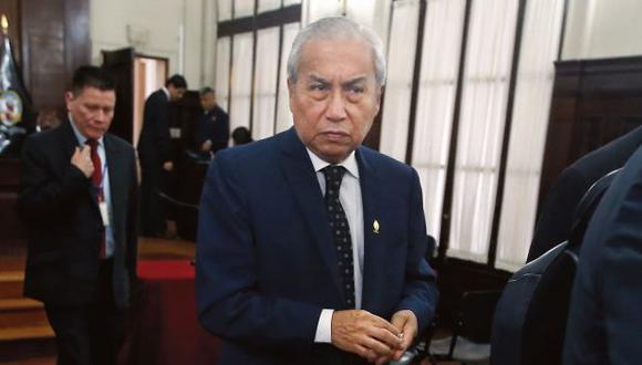 Pedro Chávarry es investigado por remover a fiscales del equipo especial Lava Jato. (Mario Zapata/GEC)
