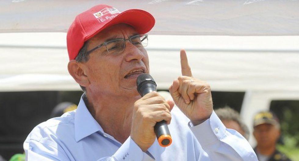 Vizcarra reiteró que la reforma política no es un capricho de una autoridad o de la población, sino una necesidad de la sociedad. (Foto: GEC)