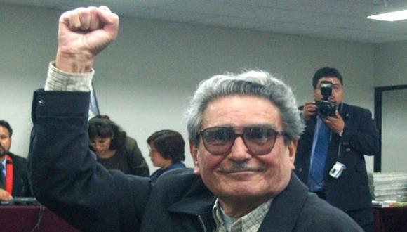 FAVORECIDO. Por una decisión judicial, Abimael Guzmán podría hacerse de tierras en Ayacucho. (AP)