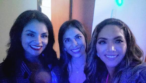Chabelita disfruta su soltería con amigas. (Facebook)