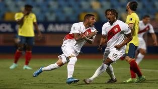 Sergio Peña se emociona hasta las lágrimas por victoria ante Colombia