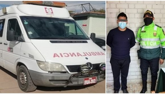 El conductor fue detenido por inmediaciones de la calle Mariano Túpac Amaru, en la Ciudad Imperial.