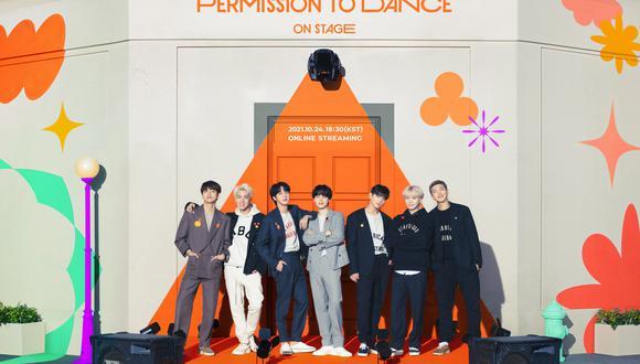 """""""Permission to dance: On Stage"""" es el nombre del nuevo concierto virtual que ha anunciado BTS a sus seguidores que tendrá una única fecha en octubre."""