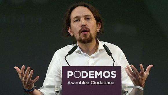 Pablo Iglesias, el nuevo líder de la izquierda española. (AFP)
