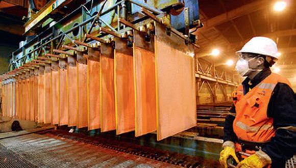 El Perú es el segundo productor mundial de cobre, metal que cada vez tiene mayor demanda por sus propiedades y los diversos usos que se le da. (GEC)