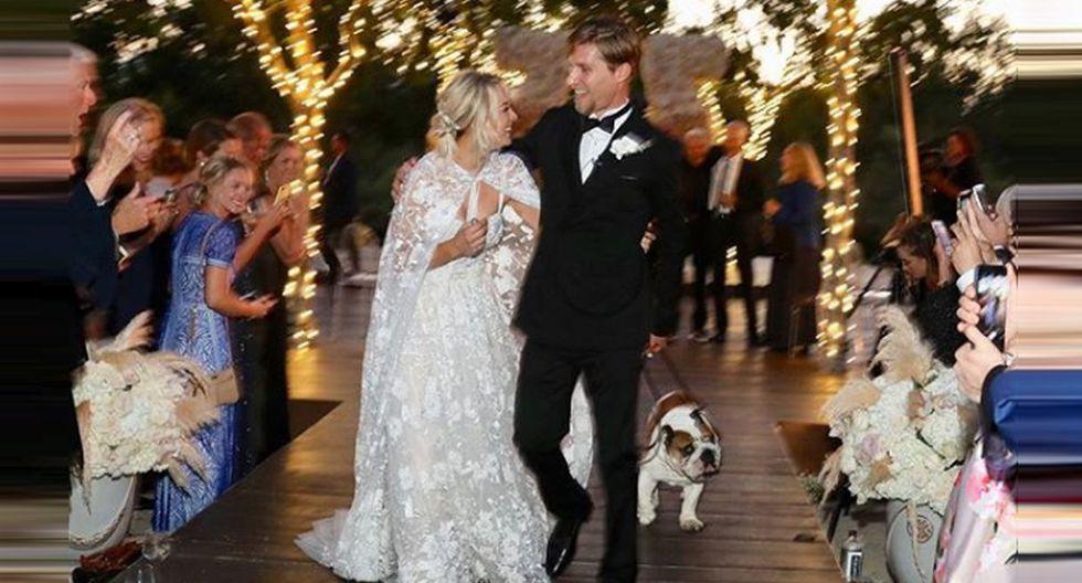 Kaley Cuoco, 'Penny' en 'The Big Bang Theory', se casó con el multimillonario Karl Cook. (Instagram)
