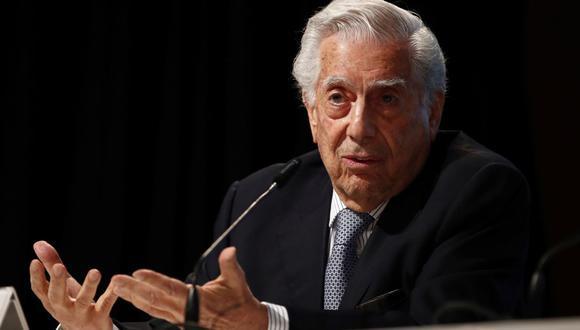 Mario Vargas Llosa se refirió a las Elecciones Generales del 2021 que se llevarán a cabo en Perú. (Foto: EFE / Javier Lopez).