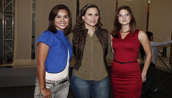 Presentación del elenco de la nueva teleserie. (Nancy Dueñas)