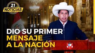 Mensaje a la nación del presidente Pedro Castillo