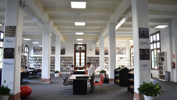 Para el servicio de lectura en las bibliotecas del Palacio Municipal de Lima y Metropolitana, los usuarios deberán reservar una cita. (Foto: Municipalidad de Lima)