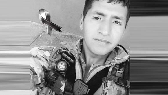 Elmer Quispe Ríos murió tras enfrentamiento del Comando contra terroristas. (FAP)