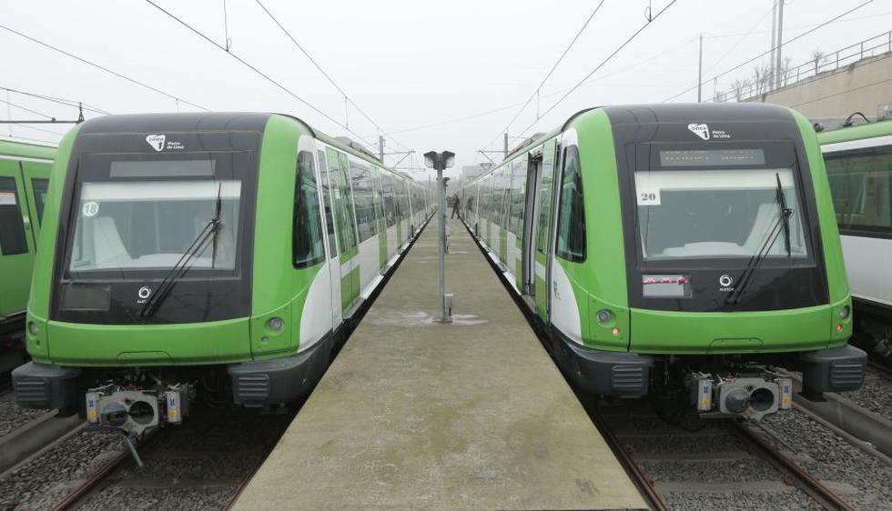 Los trenes entrarán en funcionamiento desde mañana. (Foto: César Fajardo/Peru21)