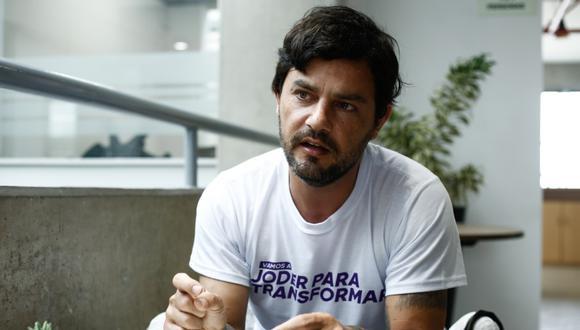 Daniel Olivares es congresista de la República por el Partido Morado. (Foto: Joel Alonso / GEC)