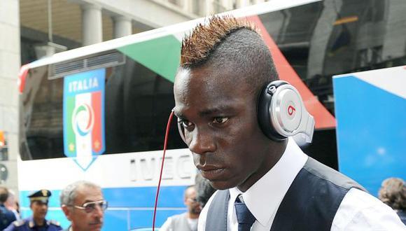 Balotelli será de la partida. (EFE)