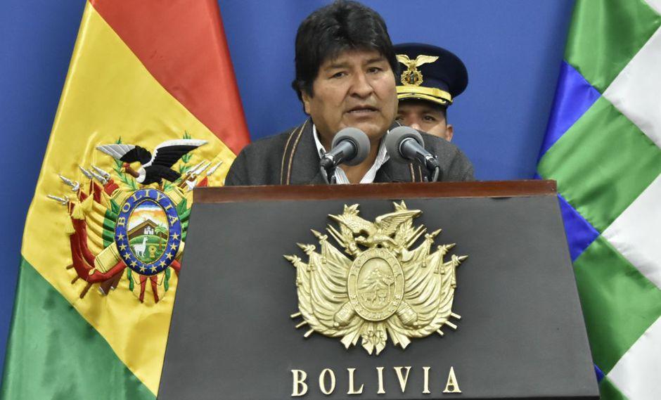 Evo Morales, candidato a la reelección por el oficialista Movimiento al Socialismo (MAS), ganaría en seis de las nueve regiones de Bolivia. (Foto: EFE)