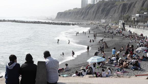 Gobierno toma medidas de restricción a playas para evitar que se conviertan en focos de contagio de COVID-19. (Foto: Leandro Britto/photo.gec)